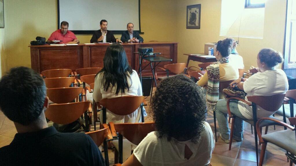 I Curso de Peritos Judiciales en La Laguna con la presencia del presidente Fermín Turiel Peredo.