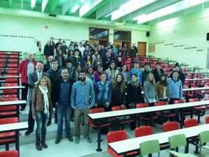 Participantes en la VI Olimpiada Territorial de Geografía