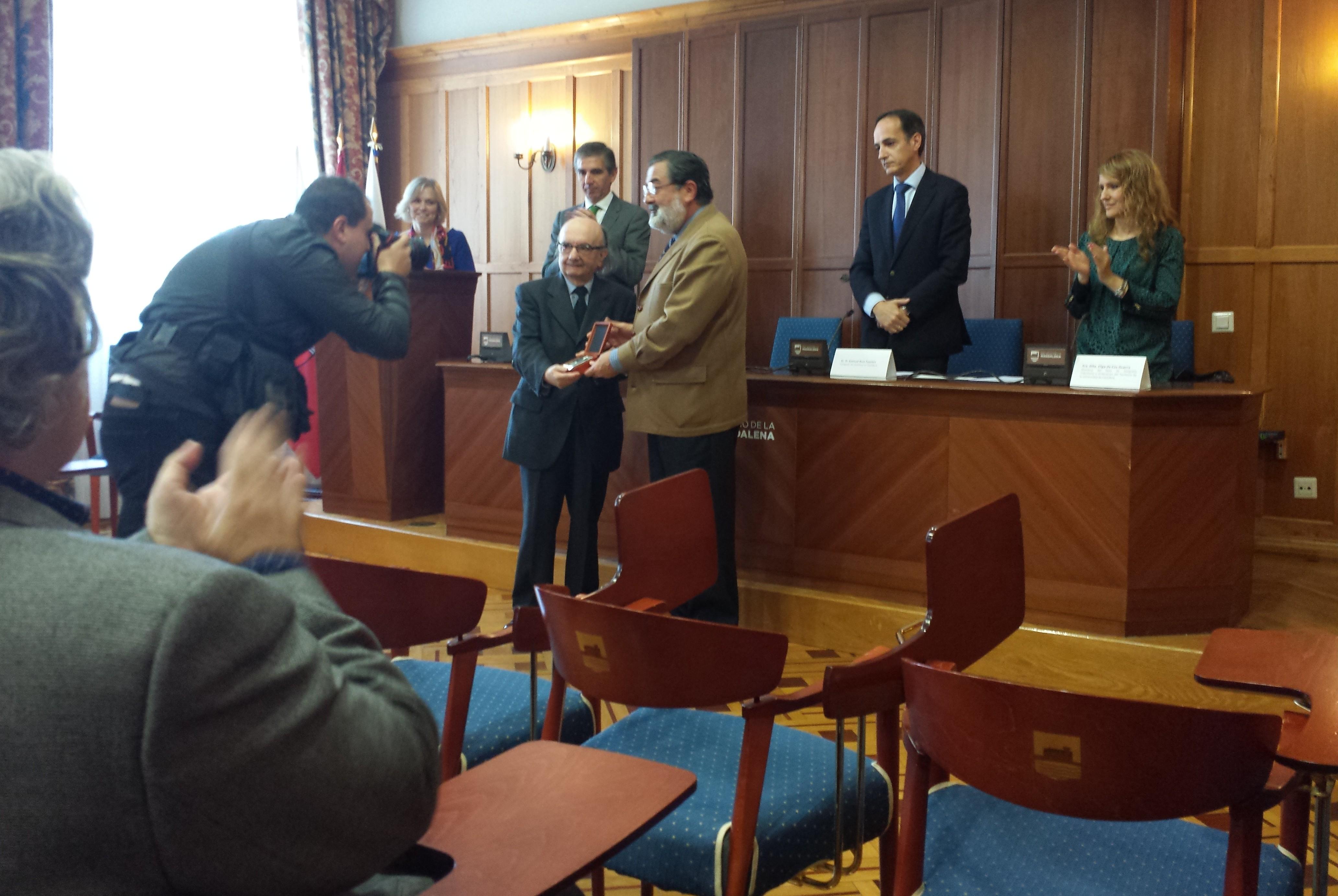 José Ortega Valcarcel premiado por el Colegio de Arquitectos de Cantabria