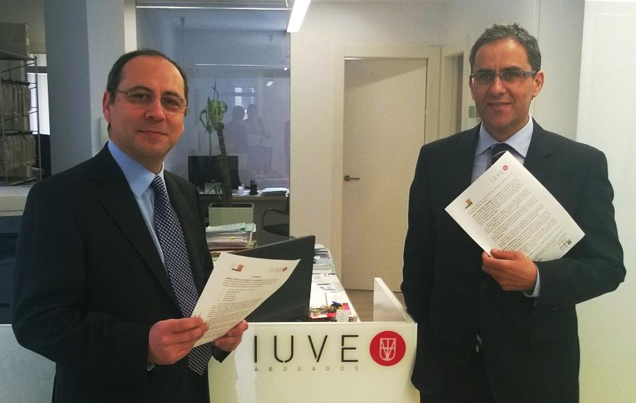 Convenio de colaboración con el despacho IUVE Abogados