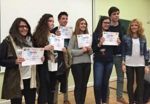 Ganadores de la 8 Olimpiada Territorial de Geografía de Cantabria
