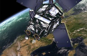El satélite Ingenio: Imagen de un satélite en órbita sobre España. / Airbus Defence & Space