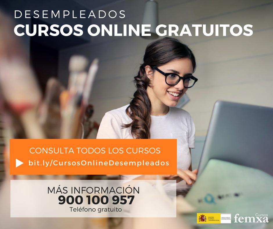 Cursos online gratuitos subvencionados por el SEPE l Femxa