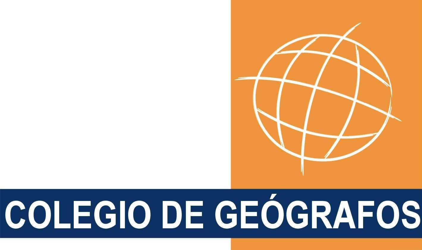 Logo del Colegio de Geógrafos