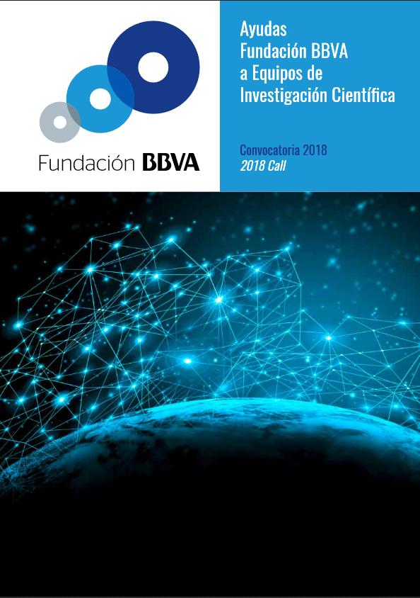 Ayudas Fundación BBVA, Convocatoria 2018