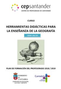 Cartel Curso Herramientas didácticas para la enseñanza