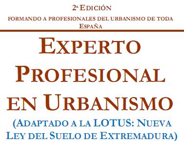 curso experto profesional en urbanismo