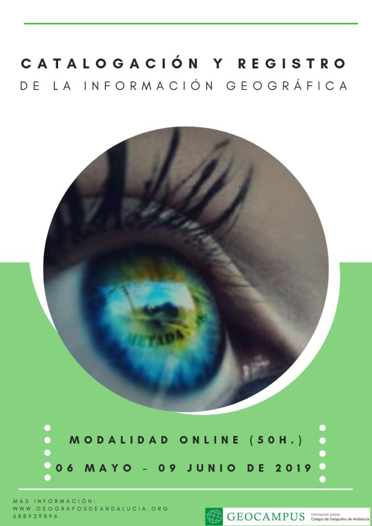 Catalogación y registro de la información geográfica