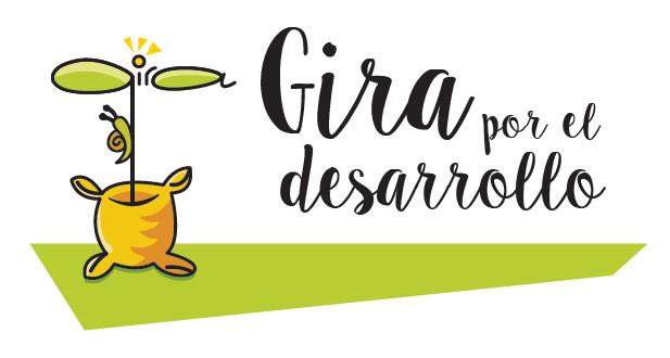 Logo de ONGD Gira por el Desarollo