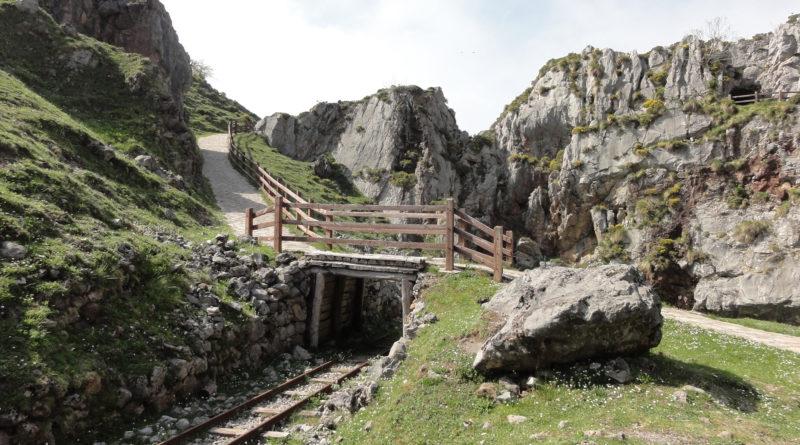 Imagen de la mina de Buferrea (Picos de Europa) para representar la figura del Geógrafo