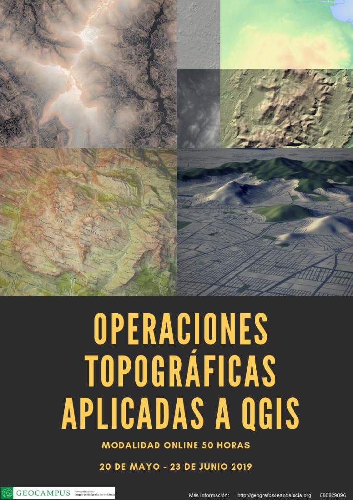 Operaciones topográficas aplicadas a QGIS