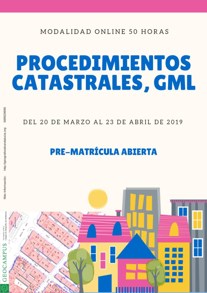 Procedimientos catastrales, GML