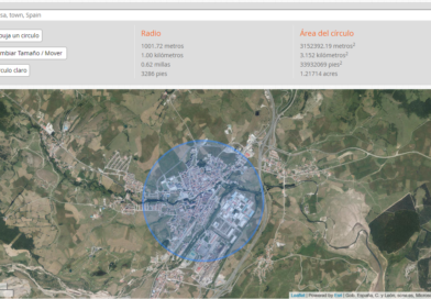 Ciudad de Reinosa con la herramienta de maps dirrección